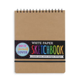 Ooly DIY White Paper Sketchbook