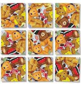 b.dazzle, inc. Teddy Bears Scramble Squares