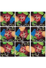 b.dazzle, inc. Vin, Vino, Wein, Wine! Scramble Squares