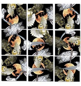 b.dazzle, inc. Owls Scramble Squares