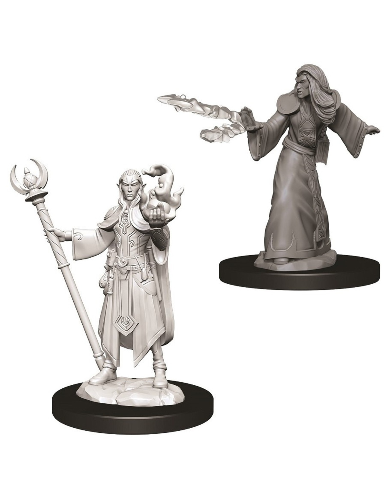 Wizkids D&D NMU: Male Elf Wizard