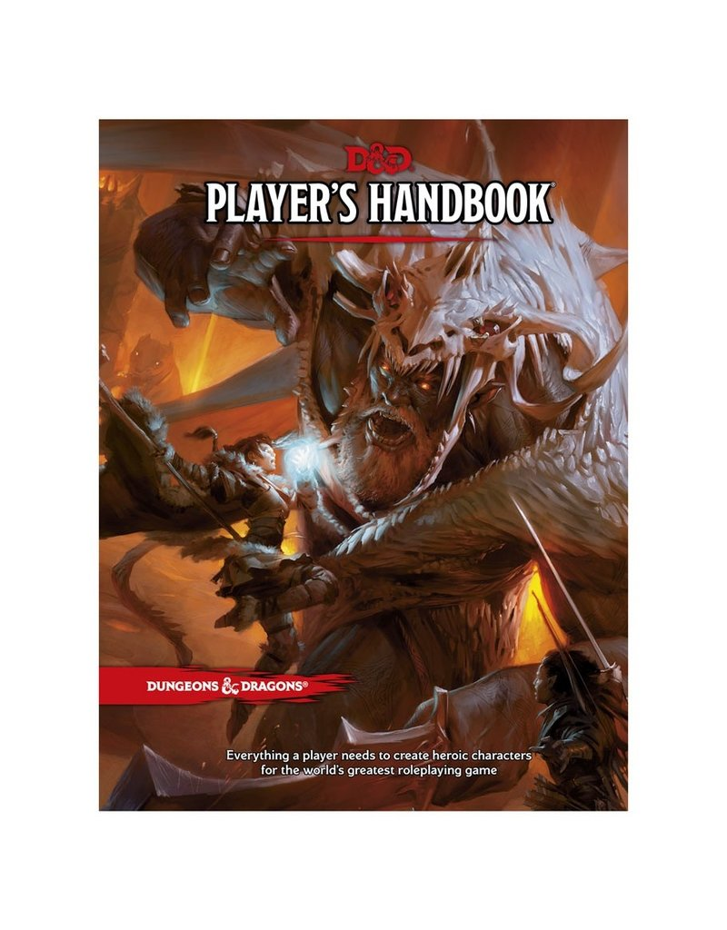 Wizards of the Coast D&D 5th: Player's Handbook