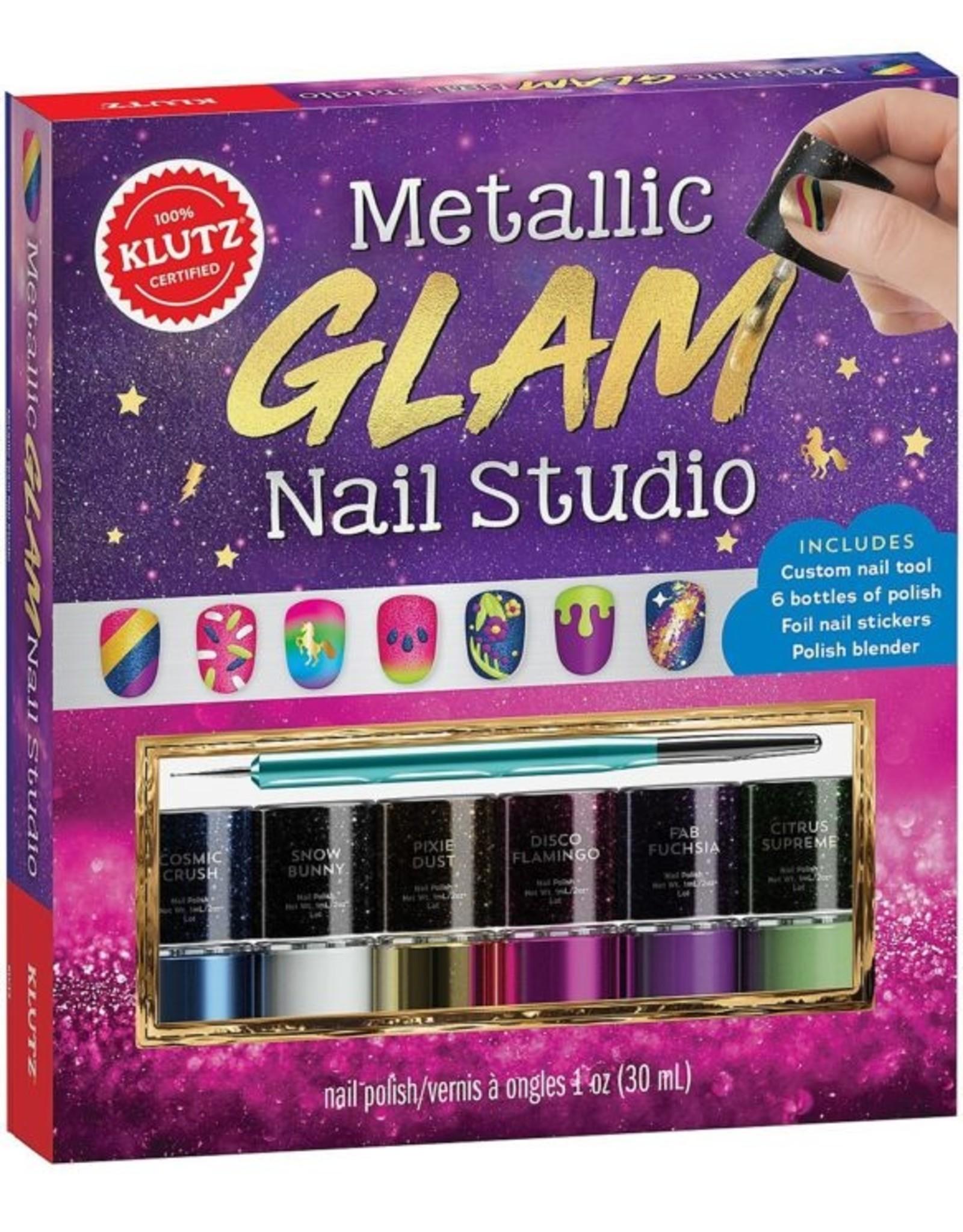 Klutz Metallic Glam Nail Studio