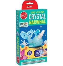 Klutz Grow Your Own Crystal Narwhal