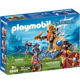 Playmobil Dwarf King with Guards