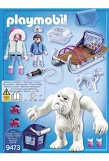 Playmobil Yeti With Sleigh
