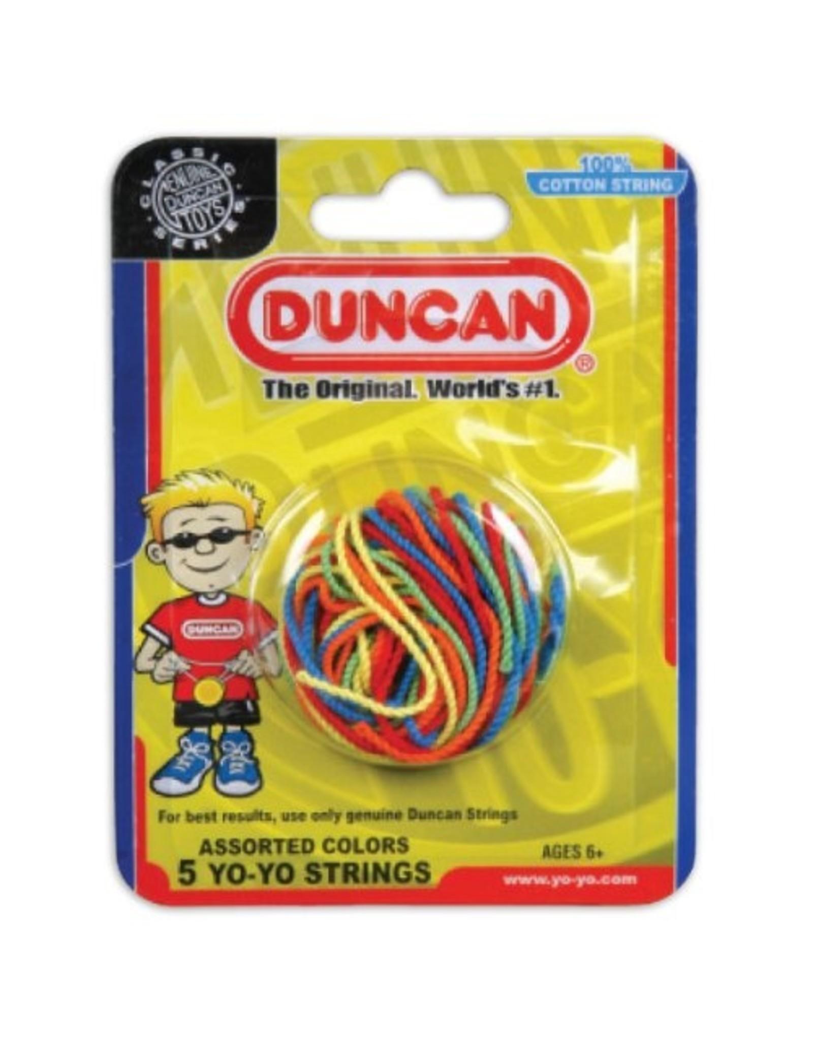 Duncan Yo-Yo String 5 Pack, Multi-Color