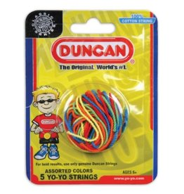Duncan Yo-Yo String 5 Pack, Multi-Color