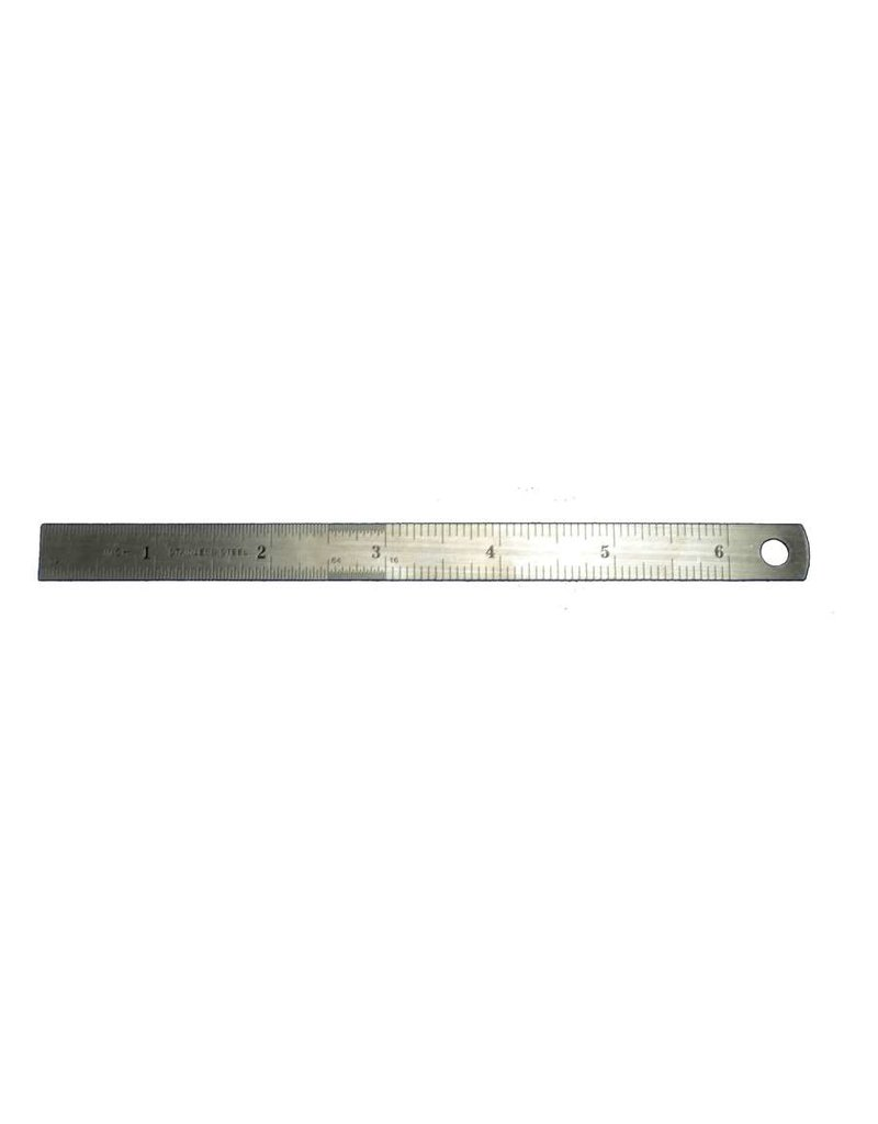 """Squadron 10109 - 6"""" Flexible Ruler Stainless"""