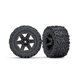 "Traxxas 6774 - Talon EXT 2.8"" Pre-Mounted Tires w/RXT Wheels (2) (Black)"