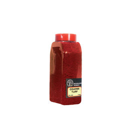 Woodland Scenics T1355 - Coarse Turf Shaker, Fall Red