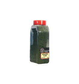 Woodland Scenics T1365 - Coarse Turf Shaker, Dark Green