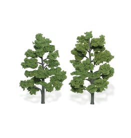 "Woodland Scenics TR1515 - Ready Made Trees, Light Green 6-7"" (2)"