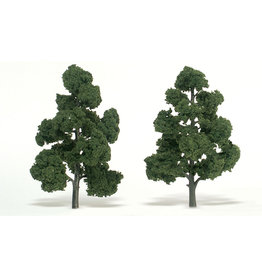 "Woodland Scenics TR1518 - Ready Made Trees, Medium Green 7-8"" (2)"