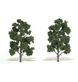"Woodland Scenics TR1519 - Ready Made Trees, Medium Green 8-9"" (2)"