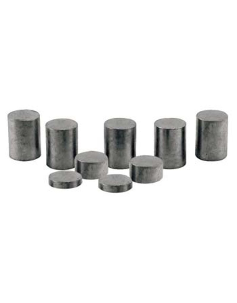 Pinecar 3915 - Tungsten Weights, 3 oz Cylinder Incremental