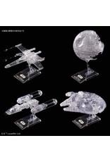 Bandai ROTJ Clear Vehicle Set
