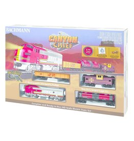 Bachmann Canyon Chief Train Set