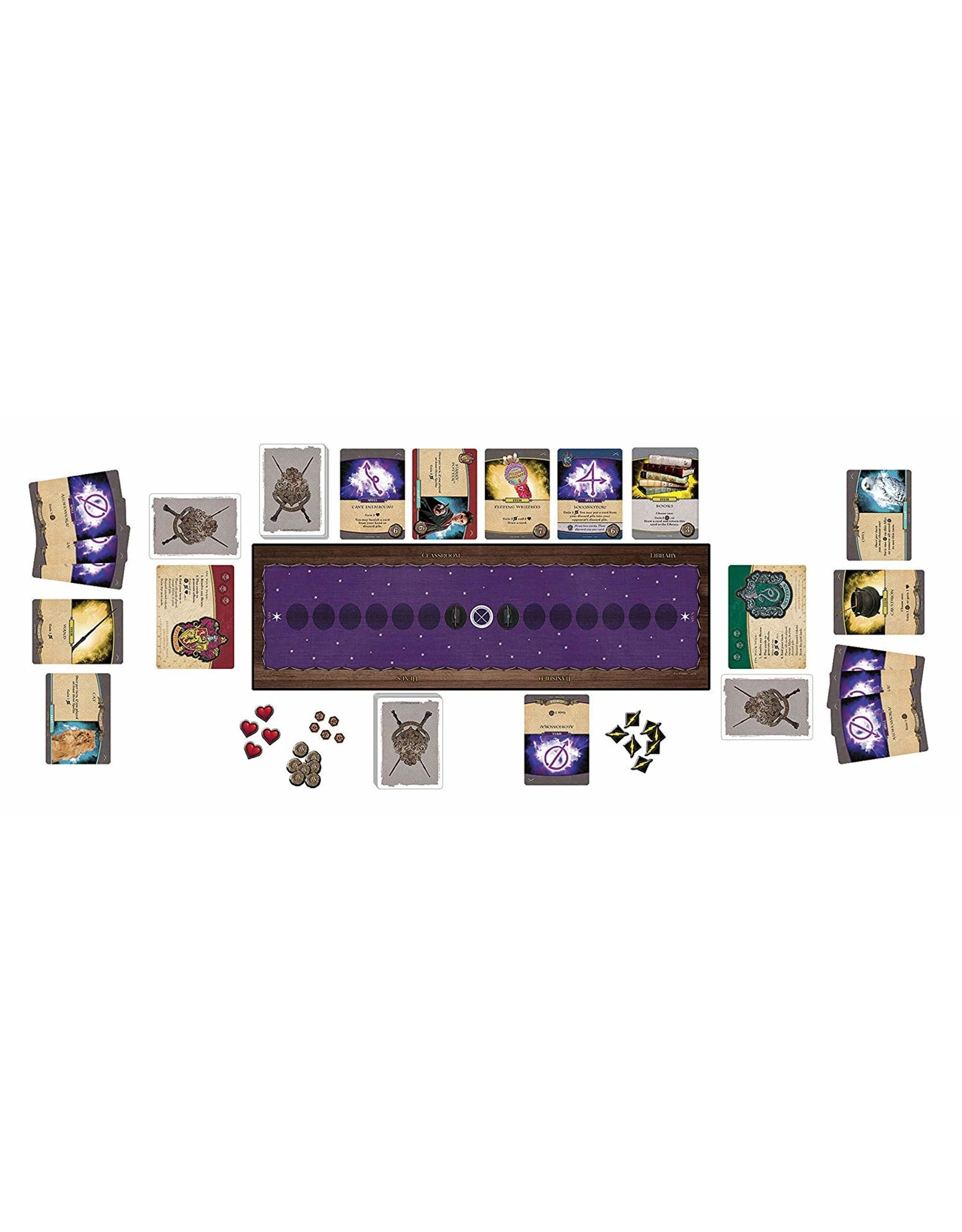 USAopoly Harry Potter Defense Against the Dark Arts - Deck Building Game