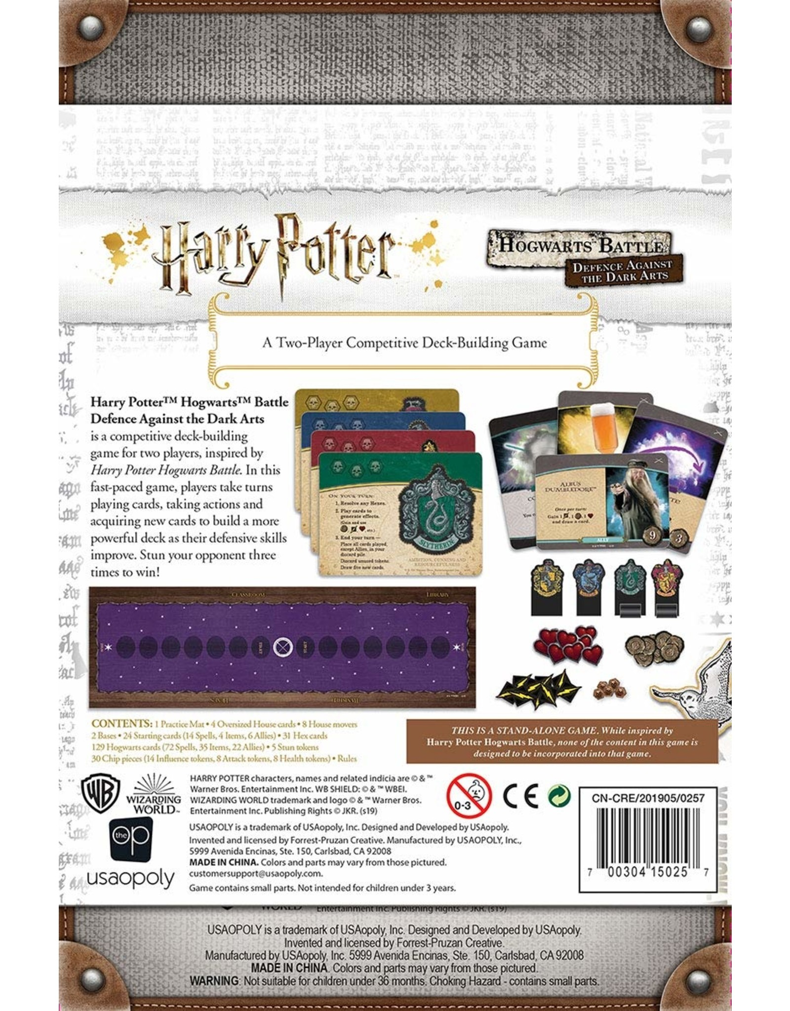 Harry Potter Defense Against The Dark Arts Deck Building Game