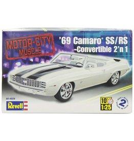 Revell 4929 - 1/25 '69 Camaro Convertible 2 'n 1