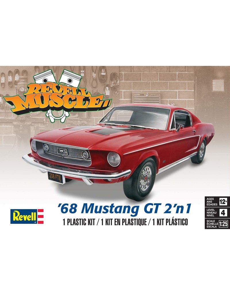 Revell 4215 - 1/25 '68 Mustang GT 2'n1