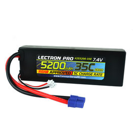 Common Sense RC 5200mAh 35C Lipo Battery w/ EC3-CMS2S5200-35E