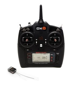 Spektrum SPM6755 - DX6 6-Channel DSMX Transmitter Gen 3 with AR6600T Receiver