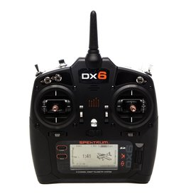 Spektrum SPMR6750 - DX6 6-Channel DSMX Transmitter Only Gen 3, Mode 2