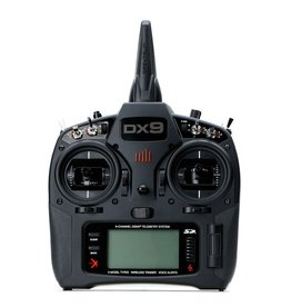 Spektrum SPMR9910 - DX9 Black 9-Channel DSMX Transmitter Only, Mode 2