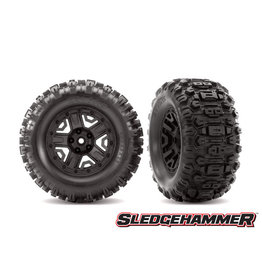 Traxxas 6792 - T&W Black 2.8 Sledgehammer Tires