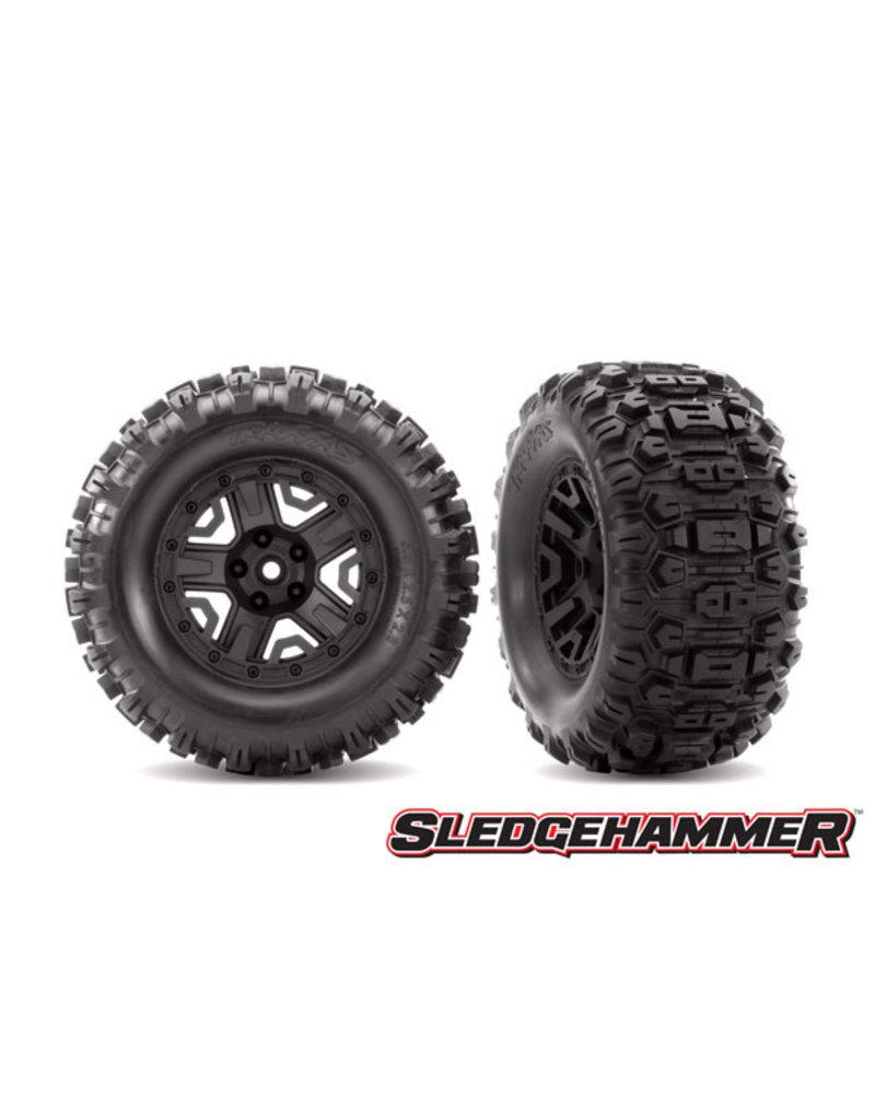 Traxxas 6792 - T&W Black 2.8 Sledgehammer Tires