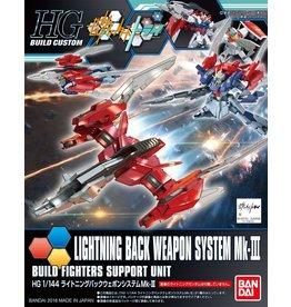 Bandai #27 Lightning Back Weapon System MK-III