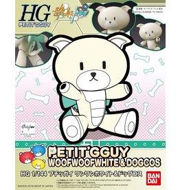 Bandai #11 Petit'GGuy WoofWoofWhite & DogCos