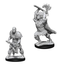 Wizkids D&D NMU: Male Goliath Barbarian