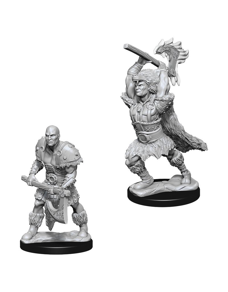 Wizkids D&D NMU: Male Goliath Barbarian