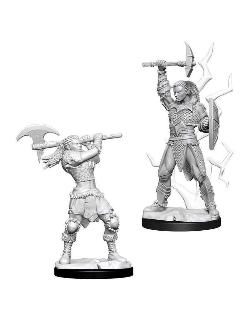 Wizkids D&D NMU: Female Goliath Barbarian