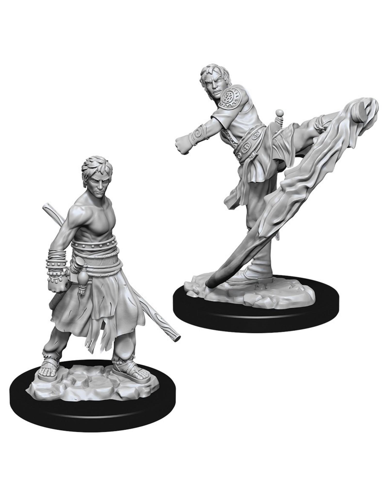Wizkids D&D NMU: Male Half-Elf Monk