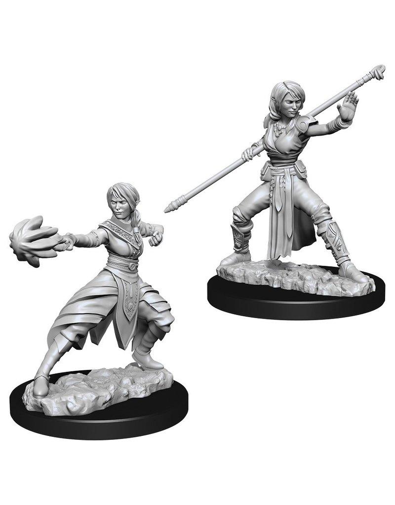 Wizkids D&D NMU: Female Half-Elf Monk