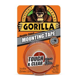 Gorilla Glue Gorilla - Tough & Clear Mounting Tape (60in)