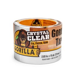 Gorilla Glue Gorilla - Crystal Clear Tape (15yd)