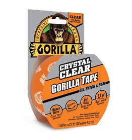 Gorilla Glue Gorilla - Crystal Clear Tape (9yd)