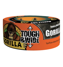 Gorilla Glue Gorilla - Black Tape Tough & Wide (30yd)