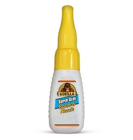 Gorilla Glue Gorilla - Super Glue w/Brush & Nozzle (10g)