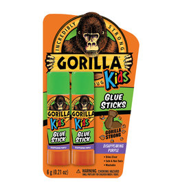 Gorilla Glue Gorilla - School Glue Stick (6g, 2pck)
