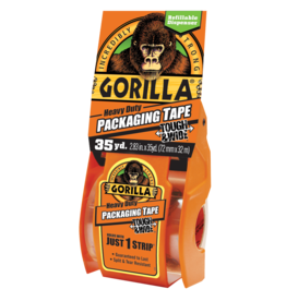 Gorilla Glue Gorilla - Heavy Duty Packaging Tape Tough & Wide (35yd)