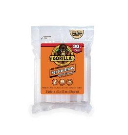 Gorilla Glue Gorilla - Hot Glue Stick Full Size (4in, 30pck)