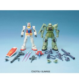 Bandai Gunpla Starter Set: Gundam Vs. Zaku II