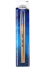 Testors 8863C - Premium 3-Pack Round Sable Brushes