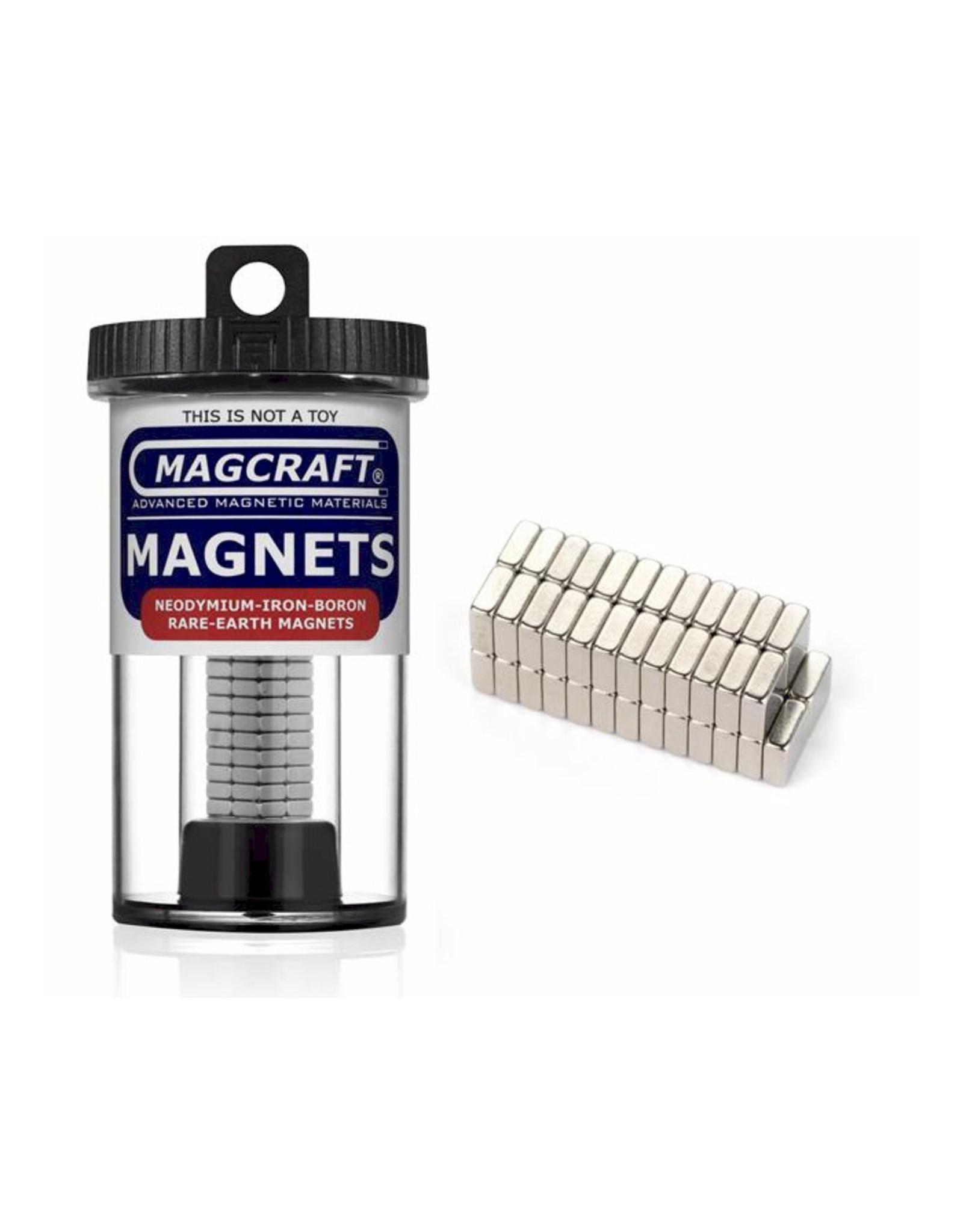 """Magcraft NSN0610 - Block 0.25"""" x 0.25"""" (50 Count)"""